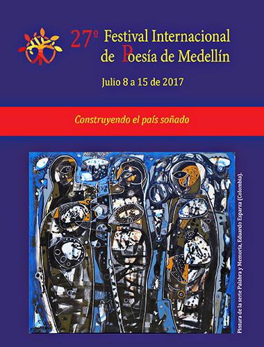 XXVII Festival Internacional de Poesía de Medellín / Pintura de Eduardo Esparza