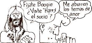 Caricatura de Roberto Fontanarrosa (1944 - 2007)