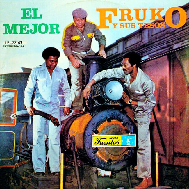 Portada del álbum «El mejor» de Fruko y sus tesos