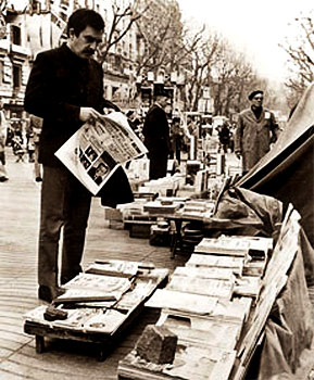 Gabriel García Márquez en Barcelona - Foto EFE