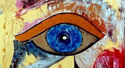 """Jana Paul - """"Eye of the Pharao"""" - Poetic-oilart.de"""
