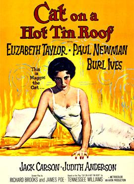 La gata sobre el tejado de zinc - Richard Brooks