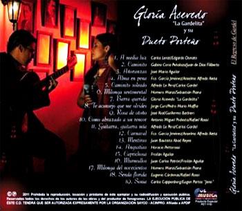 """Gloria Acevedo """"La Gardelita"""" y su Dueto Porteño"""