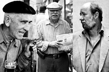 Fernando González, Alberto Aguirre y Antonio Caballero