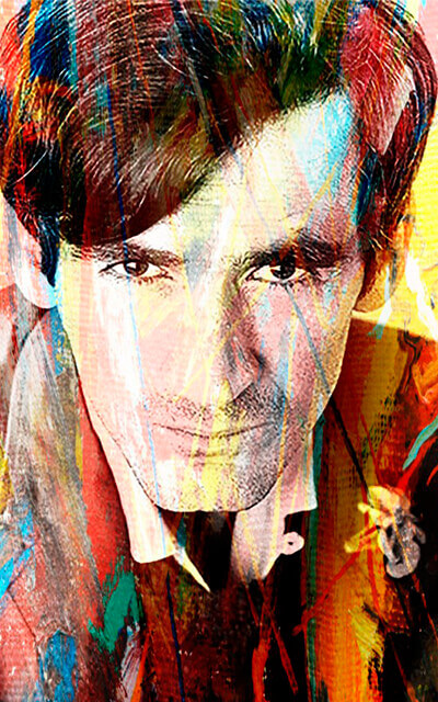 Ilustración digital de Gonzalo Arango basada en una fotografía de Hernán Díaz