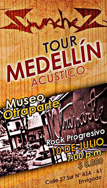 Guachez - Tour Medellín Acústico