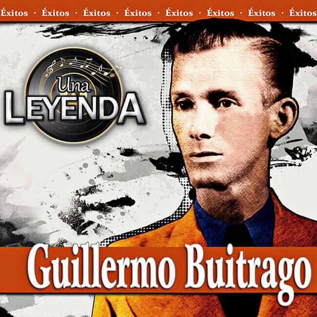 Portada del disco «Una leyenda» de Guillermo Buitrago