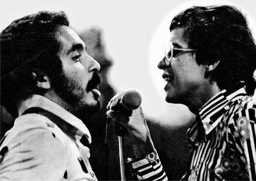 Willie Colón y Héctor Lavoe