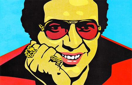 Héctor Lavoe (1946 - 1993) - Ilustración © Txarly Brown