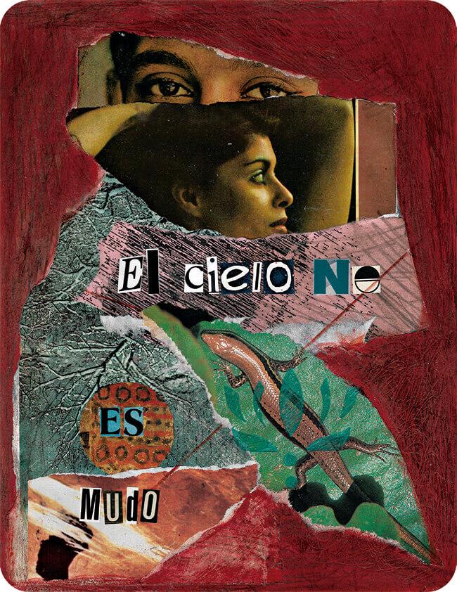 Collage de Marcela Vargas para el libro «Heredad» de Yenny León
