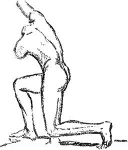 """Ilustración de """"El Hermafrodita dormido"""" de Fernando González - 1933"""