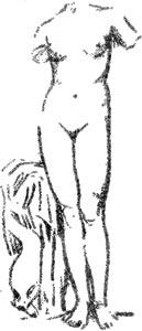 """Venus de Cirene - Ilustración de """"El Hermafrodita dormido"""" de Fernando González - 1933"""