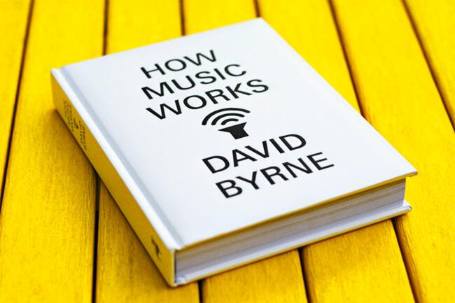 Portada del libro «How Music Works» de David Byrne