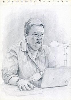 Inés Posada - Ilustración © David Londoño Mesa