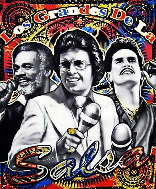 Ismael Rivera, Héctor Lavoe y Frankie Ruiz