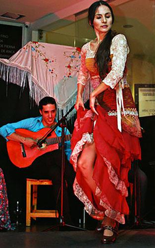 Israel Heredia y Pilar Naranjo