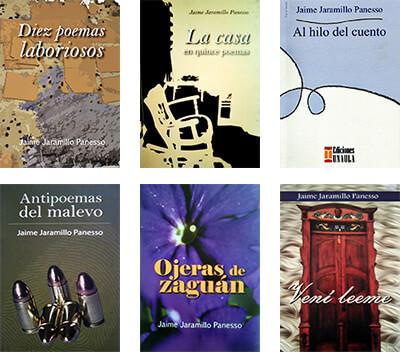 Algunos libros de Jaime Jaramillo Panesso