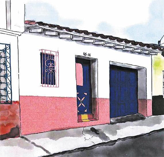 Jesús (Pacho) Gaviria Gutiérrez (1949 - 2015) / Ilustración © Zoraida Gaviria