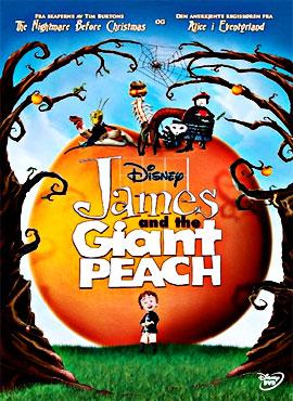 Jim y el durazno gigante - Henry Selick