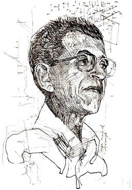 José Manuel Arango (1937 - 2002) / Ilustración por Darío Villegas