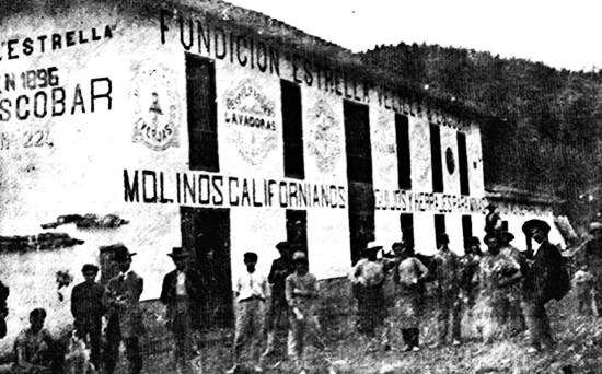 Fundición «Estrella» Velilla & Escobar (1905)