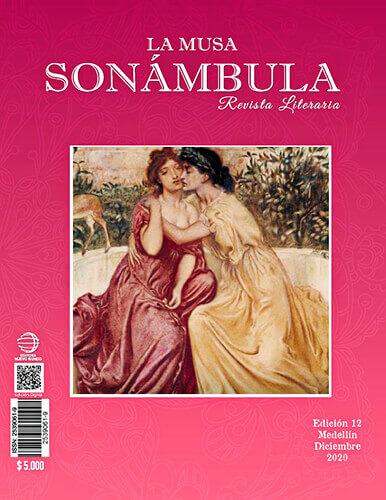 Portada de la revista literaria «La Musa Sonámbula» n.° 12