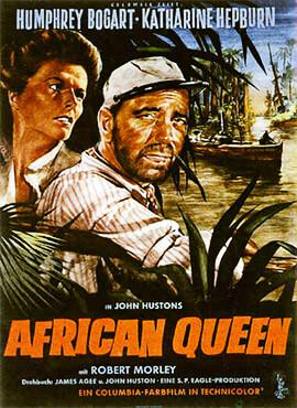 La reina de África - John Huston