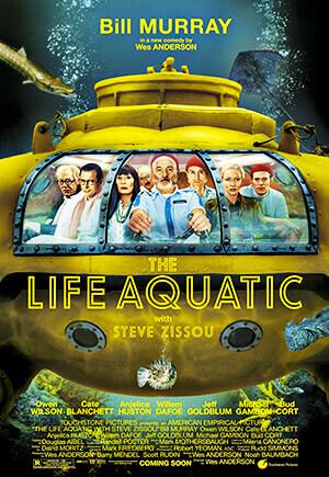 La vida acuática - Wes Anderson
