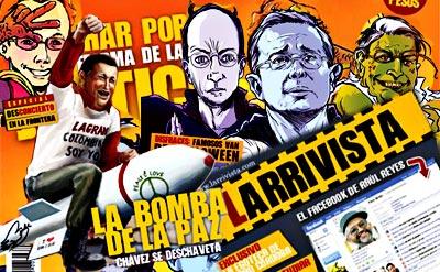 Larrivista - Espacio de reflexión y crítica basado en el humor, la parodia y la sátira