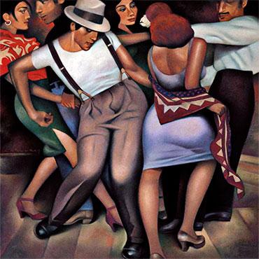 """Latino Jazz"" por Gary Kelley"