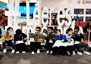 """Plan Nacional de Lectura y Escritura """"Leer es mi cuento"""" / Fotografía por Milton Ramírez"""