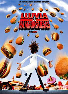 Lluvia de hamburguesas - Philip Lord / Chris Miller