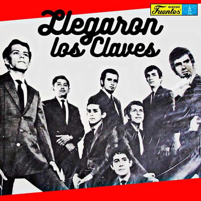 Portada del disco «Llegaron Los Claves»