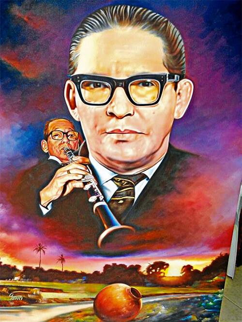 Lucho Bermúdez (1912 - 1994) / Pintura © Alfredo Torres Ibáñez