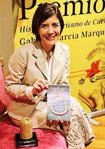 Magela Baudoin, ganadora del Premio Hispanoamericano de Cuento Gabriel García Márquez en 2015