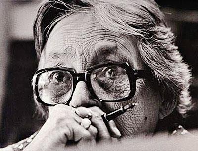 Marguerite Duras (1914-1996) - Fotografía por Vladimir Sichov