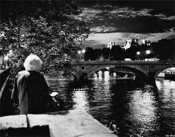 """""""stara kobieta i noc"""" por Marta Eloy Cichocka"""