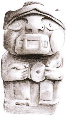 Citibundas - Palabras que divagan en el barrio - Ilustración © Daniela Romero Chapuel
