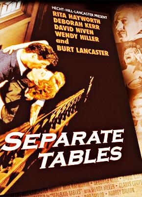 Mesas separadas - Delbert Mann
