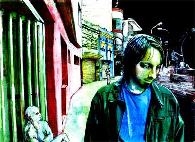 Los amigos míos se viven muriendo - Por Luis Miguel Rivas - Ilustración de Daniel Gómez Henao
