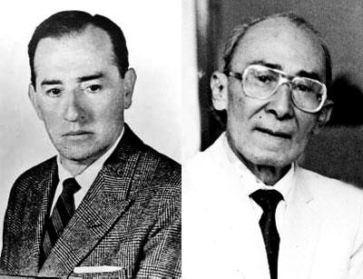 José A. Morales y José Barros