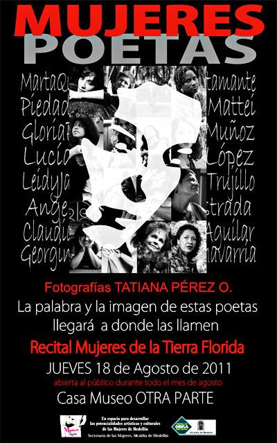 """Exposición fotográfica """"Mujeres de la tierra florida"""""""