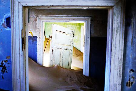 Foto de una casa deshabitada