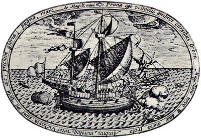 El Victoria - Primer barco en circunnavegar el mundo