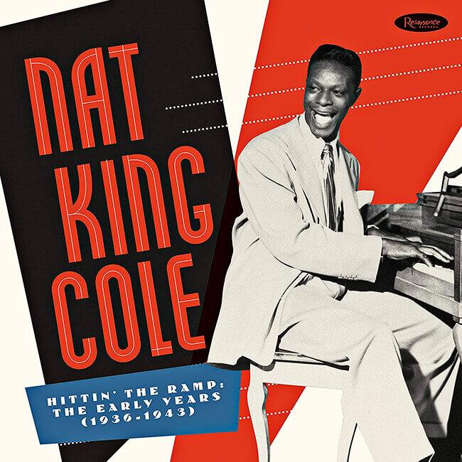 Portada del disco «Hittin' The Ramp: The Early Years (1936-1943)» de Nat King Cole