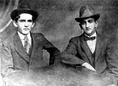 Fernando González y Fernando Isaza