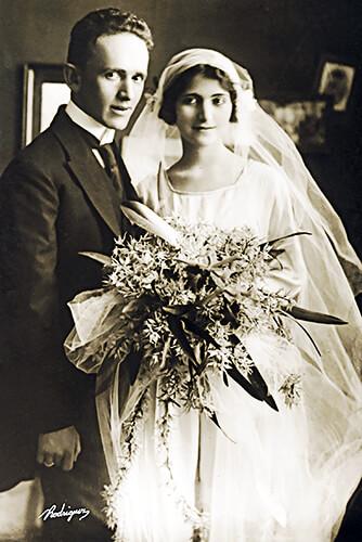 Matrimonio de Fernando González y Margarita Restrepo