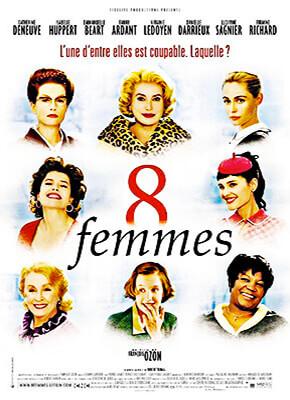 Ocho mujeres - François Ozon