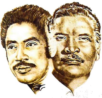 Ilustracón de Orlando Contreras y Daniel Santos