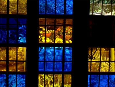 Ventanas en la Casa Museo Otraparte
